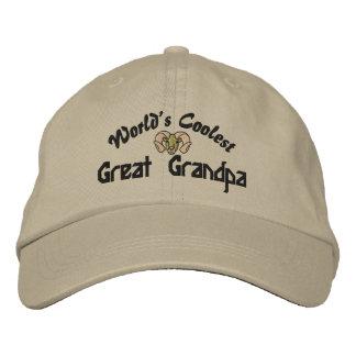 El gorra bordado abuelo más fresco del mundo el gr gorra bordada