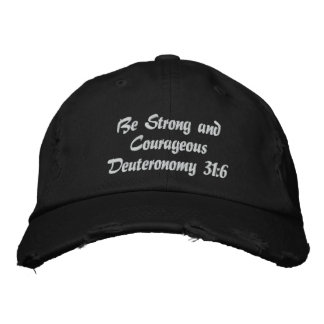 El gorra bordado de los hombres. ¡Fuerte/valeroso! Gorras De Beisbol Bordadas