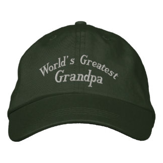 El gorra bordado el abuelo más grande del mundo gorra bordada