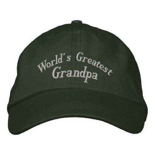 El gorra bordado el abuelo más grande del mundo gorras bordadas