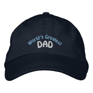 El gorra bordado el papá más grande del mundo gorro bordado