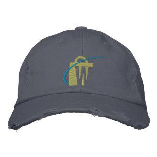 El gorra bordado más grande del tipo de tela de gorros bordados