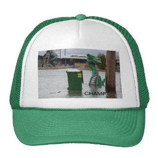 El gorra de béisbol evasivo del campeón