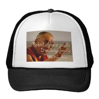 El gorra de Dalai Lama