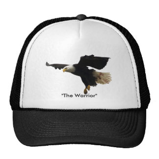 El gorra de Eagle calvo del guerrero