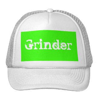 El gorra de la amoladora