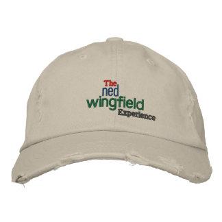 El gorra de la experiencia de Ned Wingfield Gorra De Béisbol Bordada