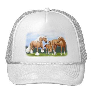 El gorra de la familia del caballo