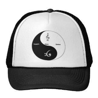 El gorra de la marca registrada