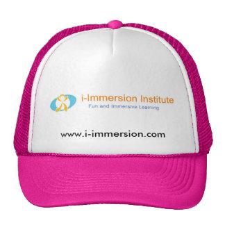 El gorra de las mujeres de la yo-Inmersión