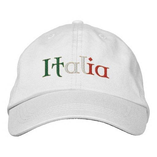 El gorra de las señoras Italia para Calcio aviva e Gorra De Beisbol