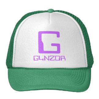 El gorra de los camioneros verdes claros y blancos