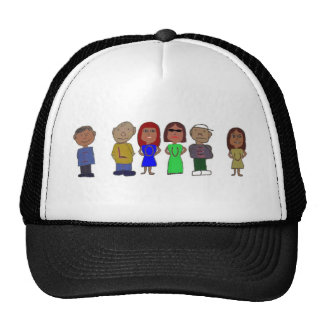 El gorra de los hombres