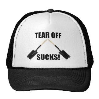El gorra de los Roofers rasga apagado chupa