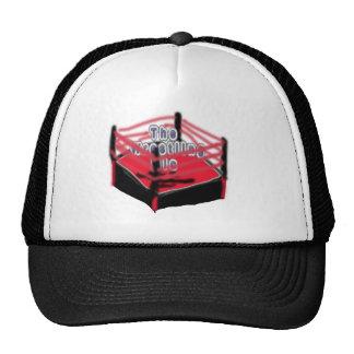 El gorra de lucha del logotipo del Mic