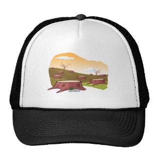 El gorra de muerte de la tierra