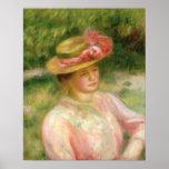 El gorra de paja, 1895 posters