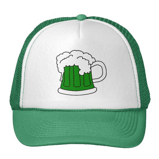 El gorra de St Patrick verde de la cerveza