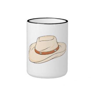 El gorra de vaquero de encargo del cuchillo largo taza