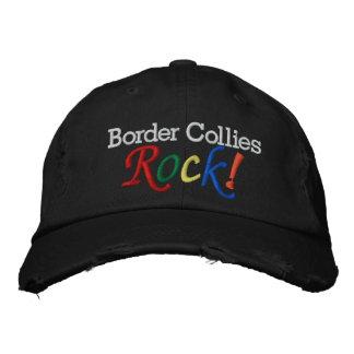 El gorra del amante del border collie/del perro gorra de béisbol bordada
