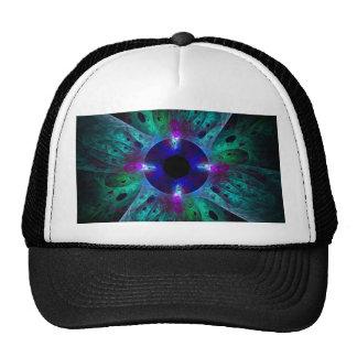 El gorra del arte abstracto del ojo