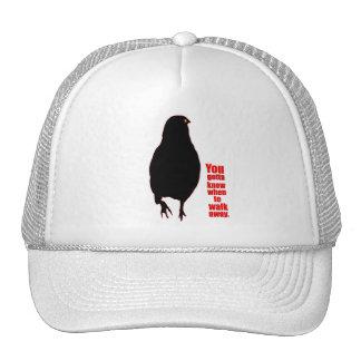 El gorra del camionero ausente del paseo