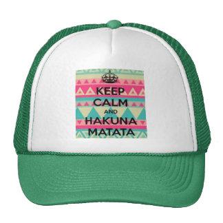 El gorra del camionero de Hakuna Matata