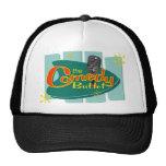 El gorra del camionero de la comida fría de la com