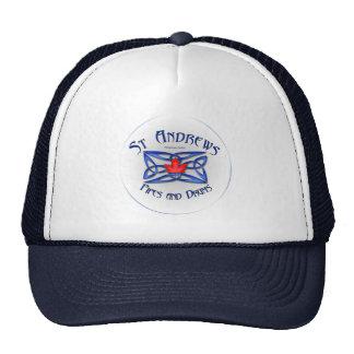 El gorra del camionero de los tubos y de los tambo