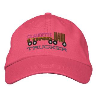 El gorra del camionero del avión transcontinental gorro bordado