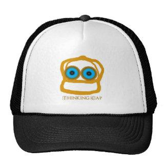 El gorra del camionero del casquillo de pensamient