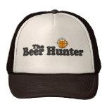 El gorra del camionero del cazador de la cerveza