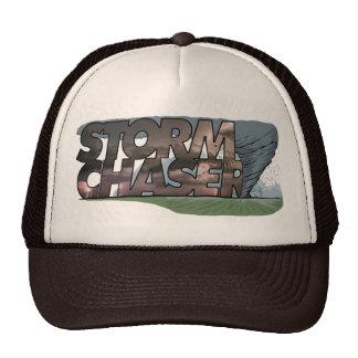 El gorra del camionero del cazador de la tormenta