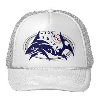 ¡El gorra del camionero del tiburón del póker!