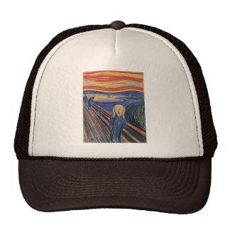 El gorra del HQ de Edvard Munch del grito (pastel