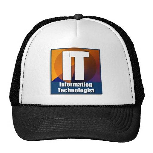 ÉL GORRA DEL LOGOTIPO - INFORMACIÓN TECHNOLOGY/TEC
