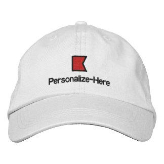 El gorra del navegante personalizado náutico de la gorra de beisbol