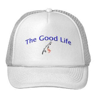 El gorra del pescador de la buena vida