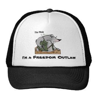 El gorra del proscrito del topo