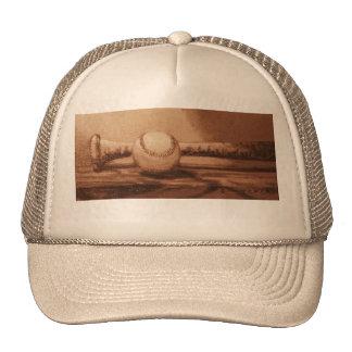 El gorra del talud del béisbol