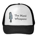 El gorra del whisperer de la morilla