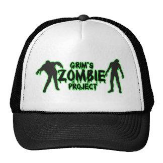 El gorra del zombi del camionero severo del proyec