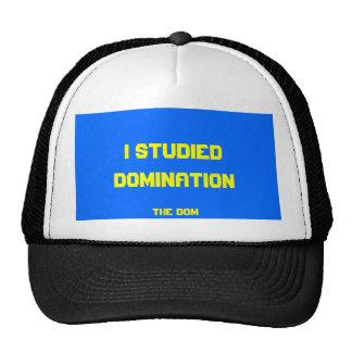 el gorra divertido de los Dom