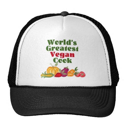 El gorra/el casquillo más grandes del cocinero del gorro de camionero