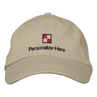 El gorra Embroi del navegante personalizado náutic Gorro Bordado