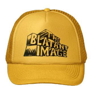 El gorra evidente del camionero de la imagen