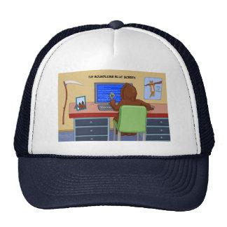 El gorra ilimitado de la pantalla azul