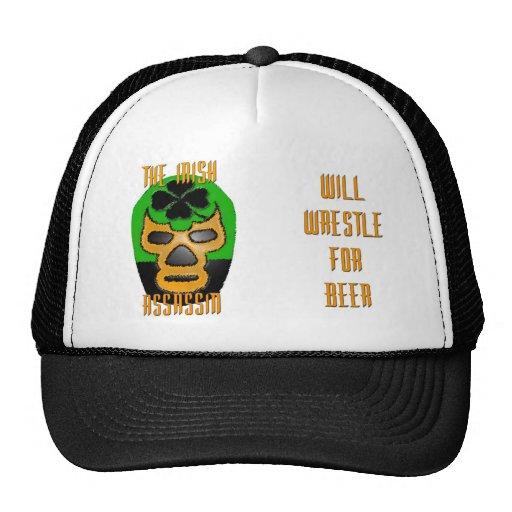 El gorra irlandés del camionero del asesino