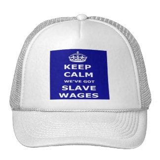 El gorra mantiene tranquilo nosotros tenemos salar