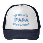 El gorra más grande de la papá de los mundos